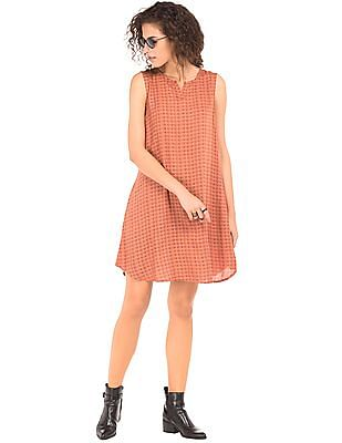 Cherokee Printed A-Line Dress