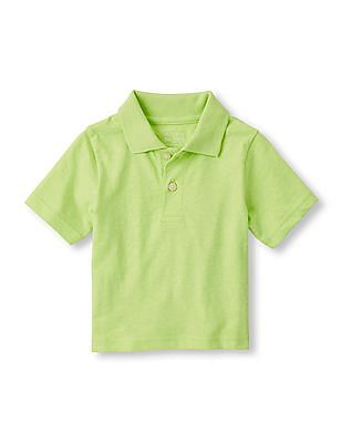 The Children's Place Toddler Boy Short Sleeve Polo