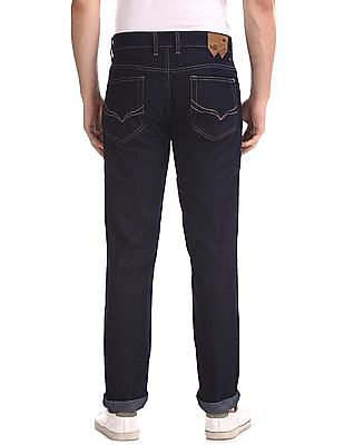 Flying Machine Blue Prince Slim Fit Dark Wash Jeans