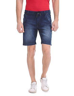 Colt Dark Wash Denim Shorts