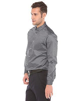 Arrow Newyork Slim Fit Dobby Weave Shirt