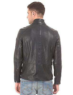 U.S. Polo Assn. Leather Biker Jacket