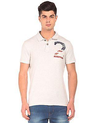 U.S. Polo Assn. Denim Co. Solid Short Sleeve Polo Shirt
