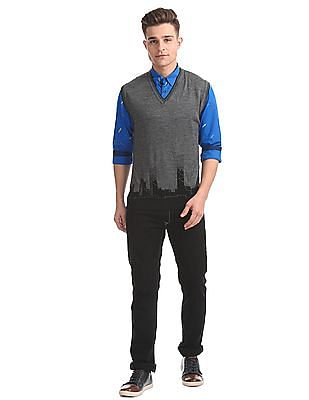 Arrow Newyork Slim Fit Merino Wool Sweater
