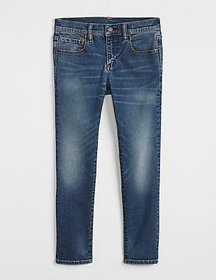 GAP Boys Skinny Fit Fantastiflex Medium Wash Jeans