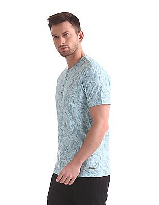 Cherokee Slim Fit Henley T-Shirt