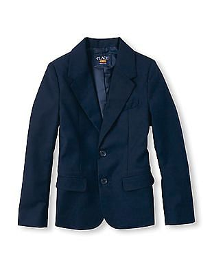 The Children's Place Boys Single-Breasted Blazer