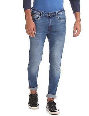 Aeropostale Super Skinny Fit Whiskered Jeans