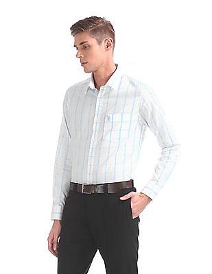 USPA Tailored Tailored Regular Fit Check Shirt