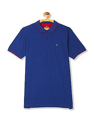 Ruggers Short Sleeve Solid Polo Shirt