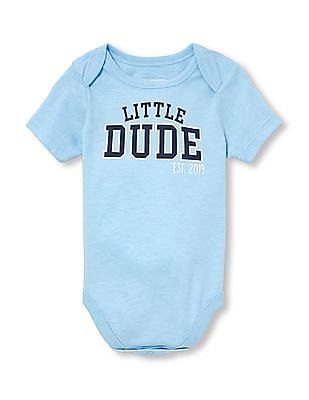 The Childrens Place Baby Boys Graphic Short Sleeve ...