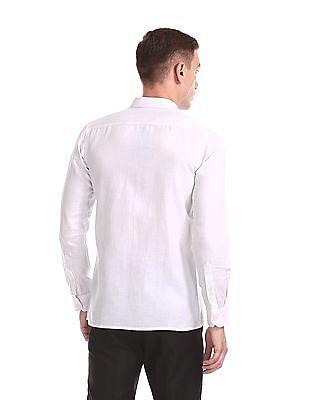 Excalibur Semi Cutaway Collar Solid Shirt - Pack Of 2