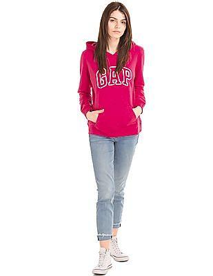 GAP Hooded Logo Sweatshirt