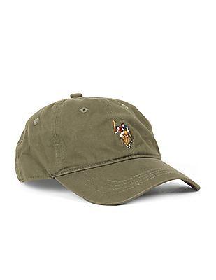 U.S. Polo Assn. Kids Boys Embroidered Cotton Cap