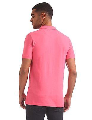 Izod Solid Cotton Pique Polo Shirt