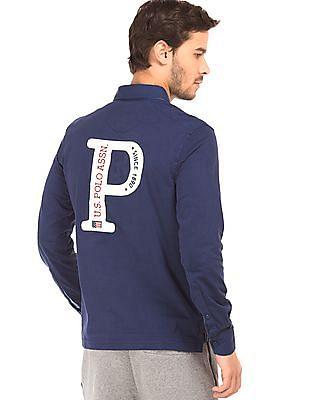 U.S. Polo Assn. Long sleeve Embroidered Polo Shirt