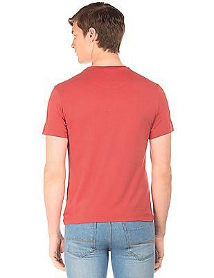 U.S. Polo Assn. Denim Co. Printed Front Short Sleeve T-Shirt