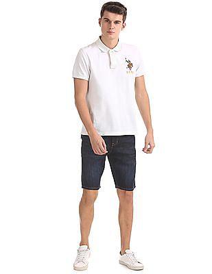 U.S. Polo Assn. Slim Fit Dark Wash Shorts