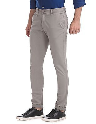 Aeropostale Super Skinny Fit Solid Trousers