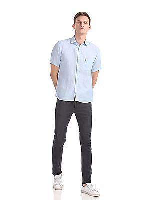 Arrow Sports Regular Fit Linen Shirt