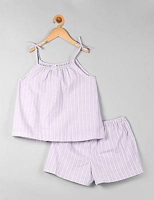 GAP Girls Tie-Tank Sleep Set