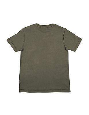 U.S. Polo Assn. Kids Boys Regular Fit Crew Neck T-Shirt