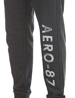 Aeropostale Regular Fit Brand Print Jogger