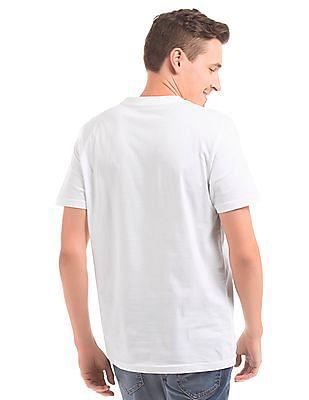 Nautica Map Print Slim Fit T-Shirt
