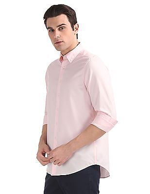 Gant Tech Prep Oxford Plain Regular Hidden Button Down Shirt