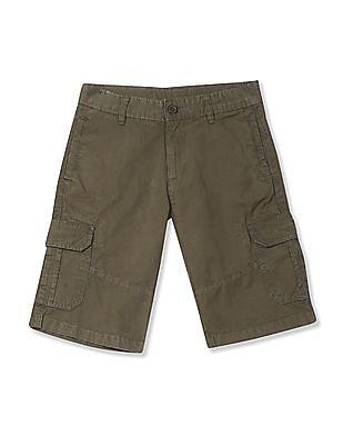 FM Boys Boys Twill Cargo Shorts