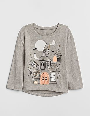 GAP Baby Flappy Graphic Long Sleeve T-Shirt