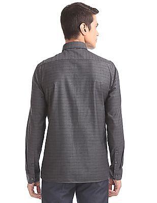 Arrow Newyork Slim Fit Striped Shirt