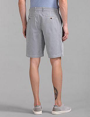 "GAP Men Blue 10"" Vintage Print Shorts With GapFlex"