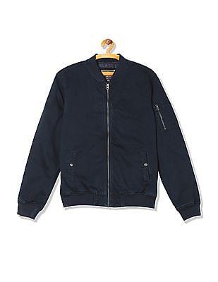 U.S. Polo Assn. Denim Co. Regular Fit Denim Bomber Jacket