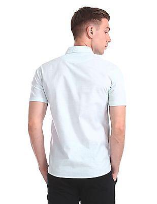 Colt French Placket Stripe Shirt