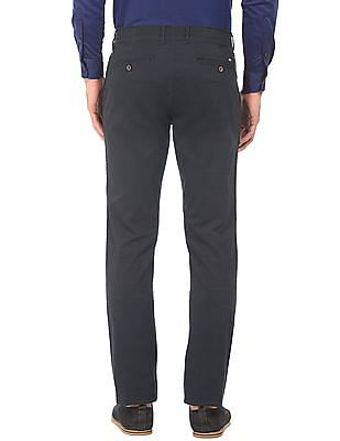 Arrow Sports Slim Fit Autoflex Waist Trousers