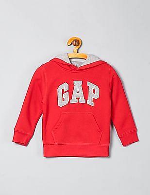 GAP Baby Appliqued Hooded Sweatshirt
