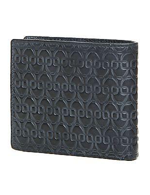 U.S. Polo Assn. Embossed Leather Bi-Fold Wallet