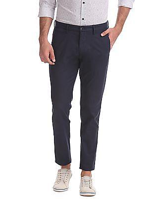 U.S. Polo Assn. Austin Trim Fit Patterned Trousers