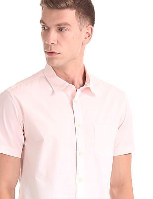 Aeropostale Short Sleeve Ombre Dyed Shirt