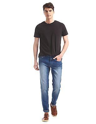 Newport Blue Slim Fit Stone Wash Jeans