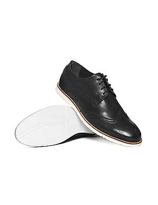 Arrow Wingtip Brogue Shoes