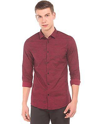 Arrow Newyork Super Slim Fit Printed Shirt