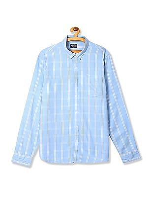 Flying Machine Regular Fit Stripe Shirt