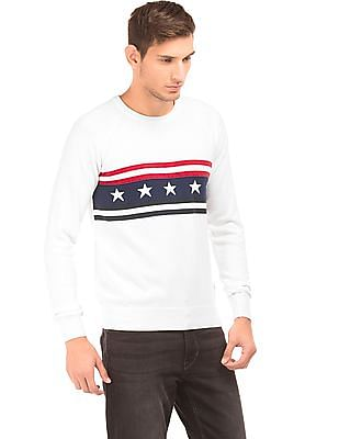 U.S. Polo Assn. Crew Neck Raglan Sleeve Sweater