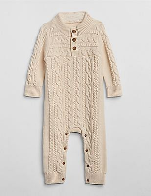 GAP Baby Cable-Knit One-Piece