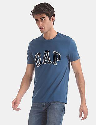 GAP Blue Short Sleeve Logo T-Shirt