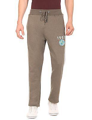 Aeropostale Contrast Seam Slim Fit Track Pants