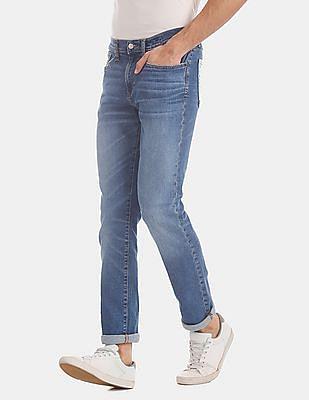 GAP Blue Slim Fit Stone Wash Jeans