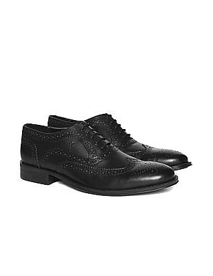 Arrow Wingtip Brogued Oxford Shoes